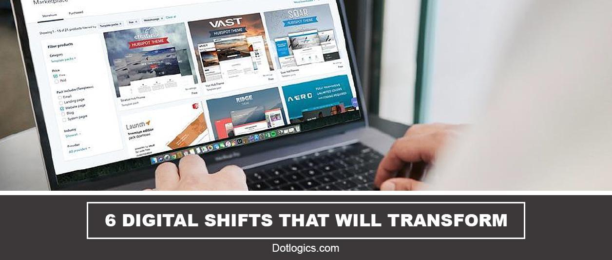 Digital Shifts for Online Business