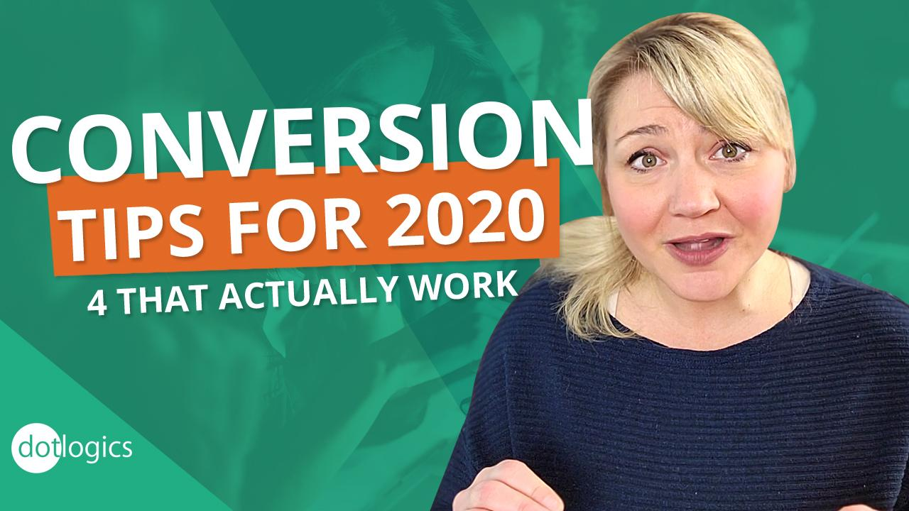 4 Ways to Increase Conversion (these actually work!)