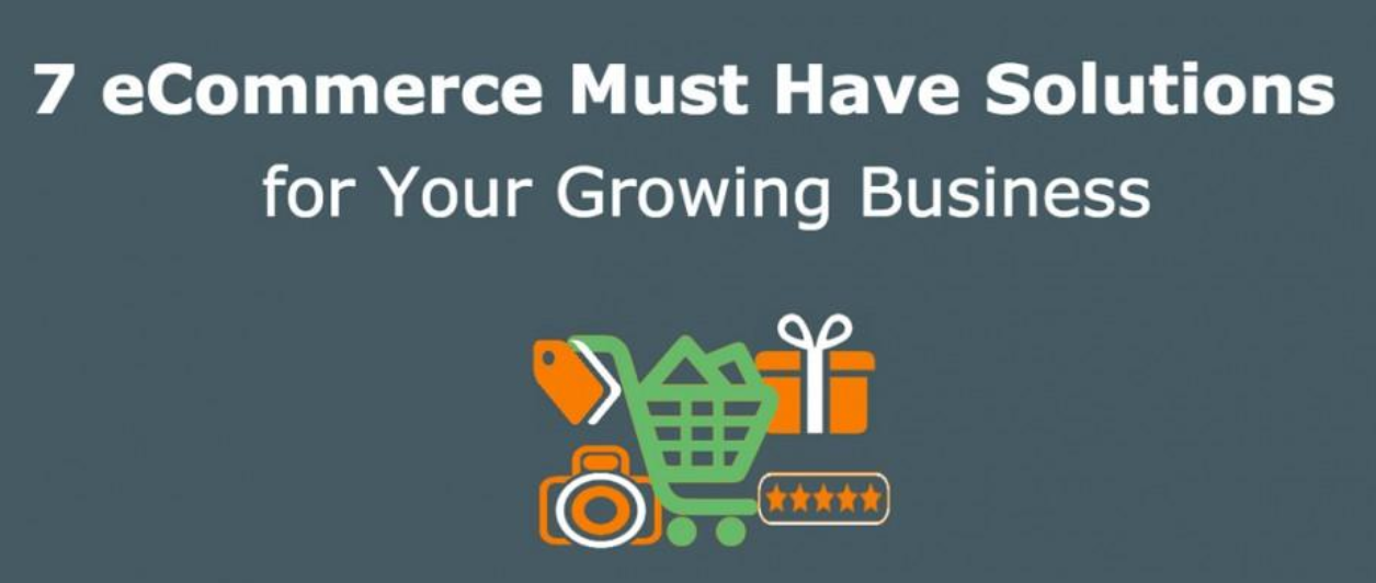7 eCommerce Must Have Solutions for Your Growing Business