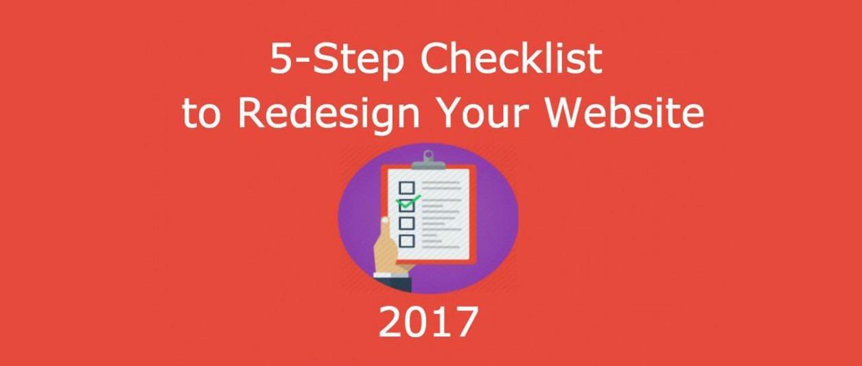 Checklist of Website Redesigning